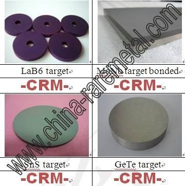 Lanthanum Hexaboride(LaB6) sputtering target-CRM Material Co. Ltd.