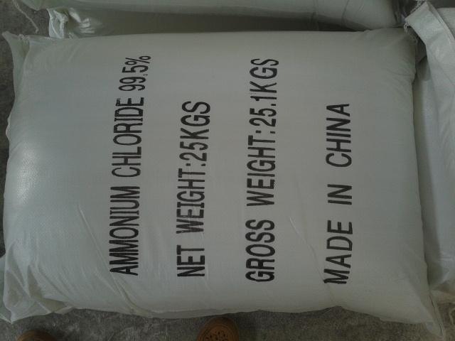 ammonium chloride tech battery grade