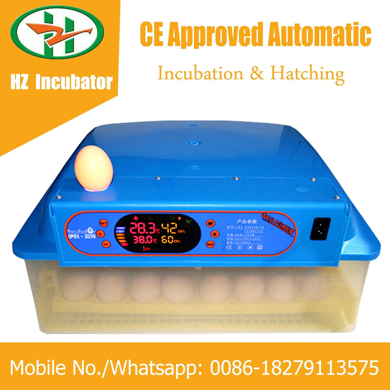 Solar Powered Automatic Mini 48 Eggs Incubator Small Hatcher Machine