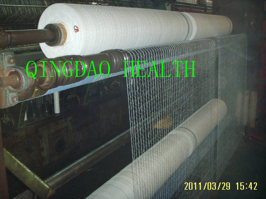 elastic pallet netting ,breathable turf pallet net