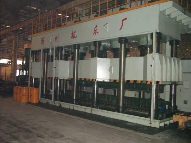HJ087 Serial Automobile Longitudinal-beam Hydraulic Press