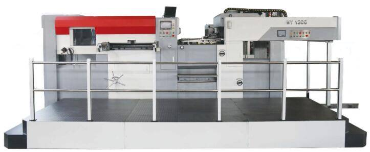 automatic die cutting and creasing machine , KMY1200