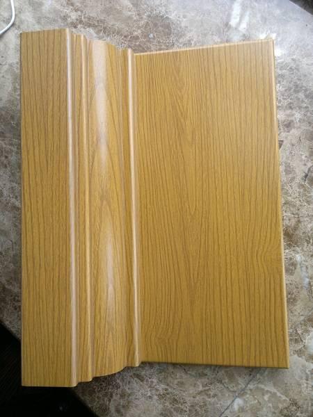 wood grain aluminum panel