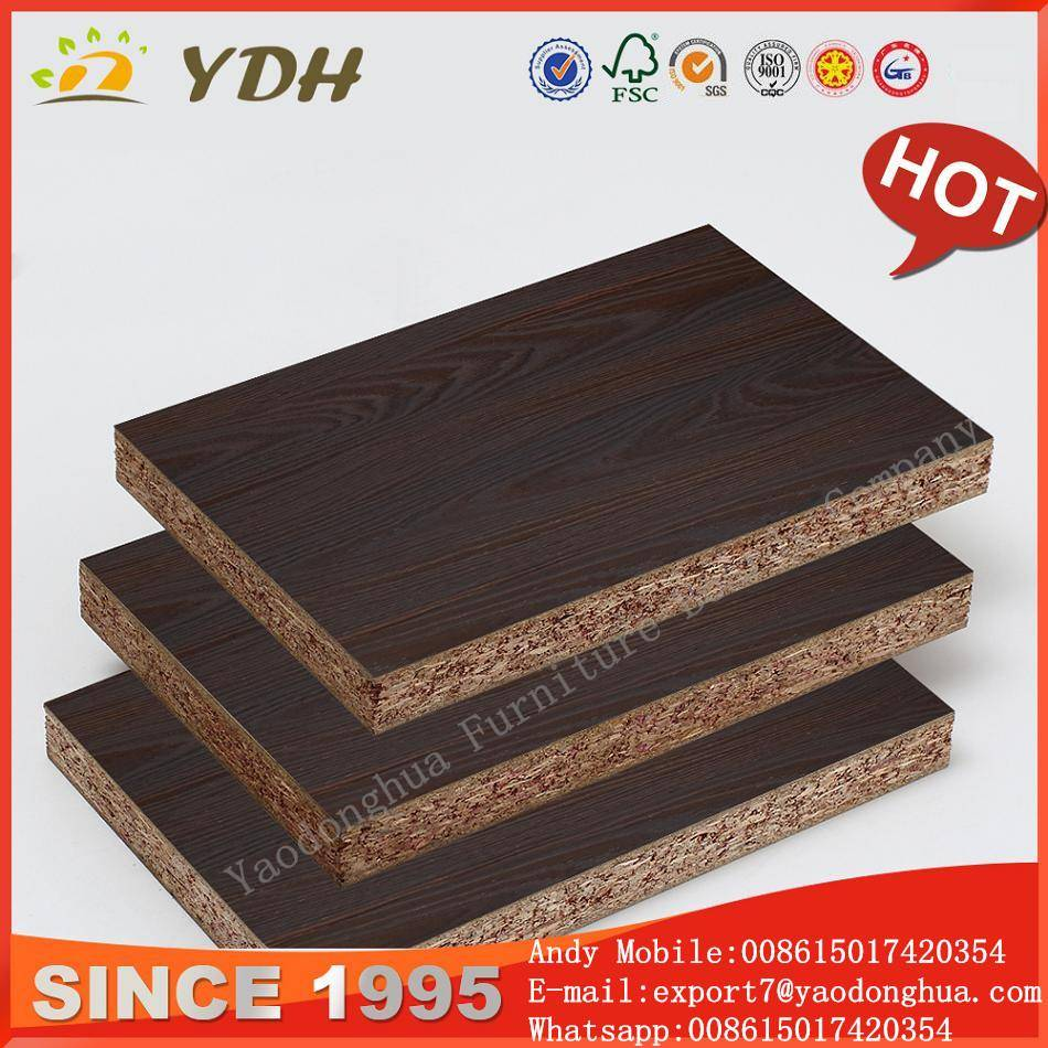 Melamine laminated particle board, white melamine particle board