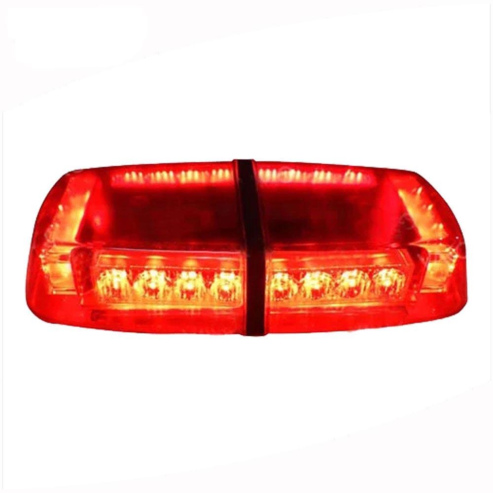 Emergency LED Lightbar With Bracket Installation