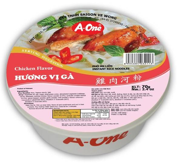 Bow Instant Noodles Chicken Flavor