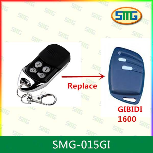 433MHZ rolling code GIBIDI remote control replacement