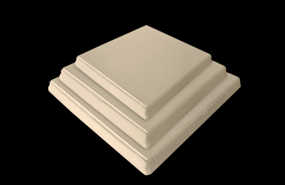 Ceramic Foam Filter CFF-A for Aluminum Casting
