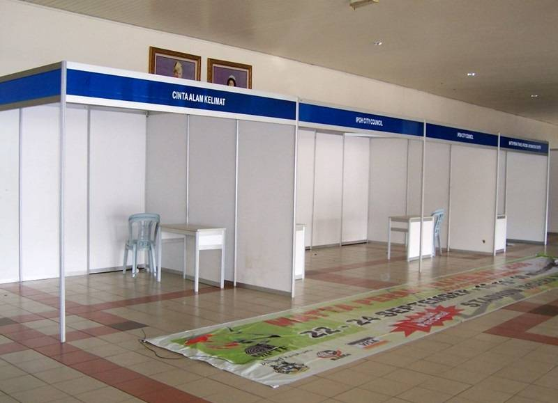 exhibition booth frame