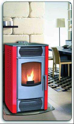 KJH-HP24 Wood Fireplace/Pellet Stove/Wood Stove