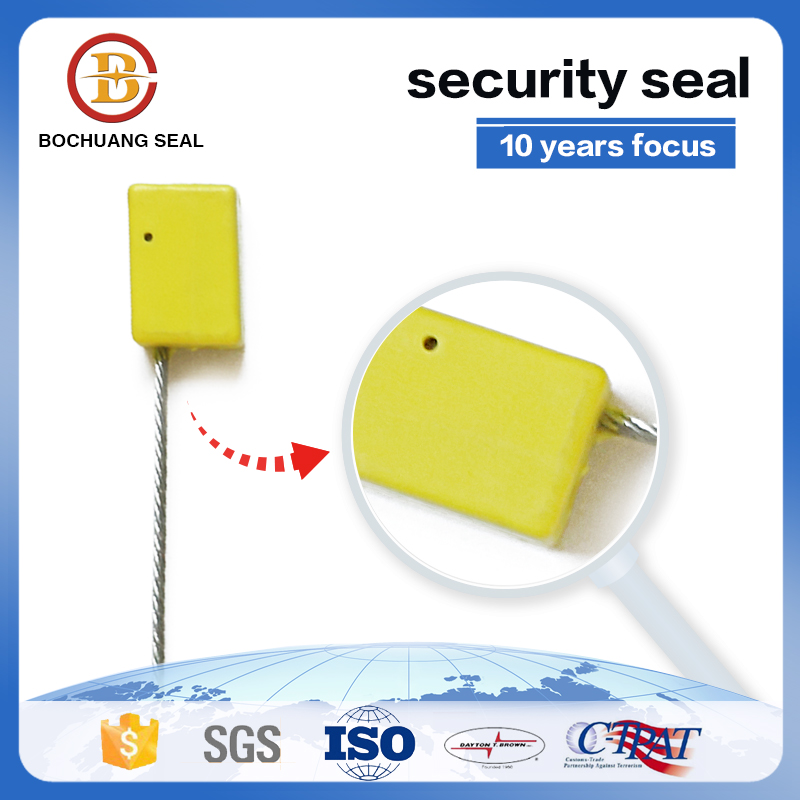 one time used disposable 1.8 wire rope lock C301