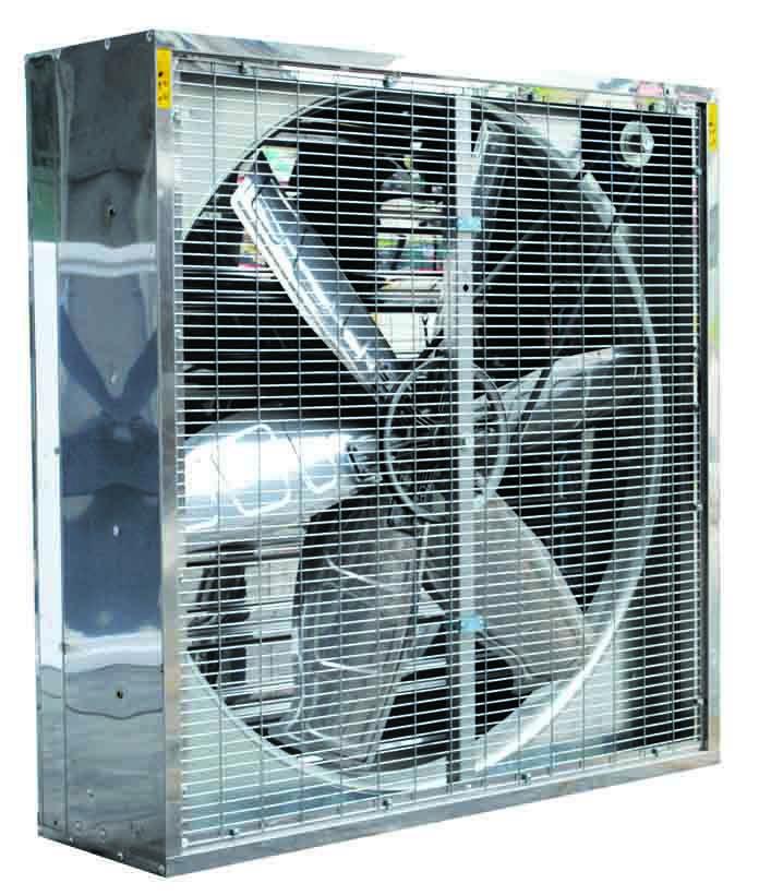 Greenhouse Shutter Fans : Ventilation fan cone exhaust for industrial