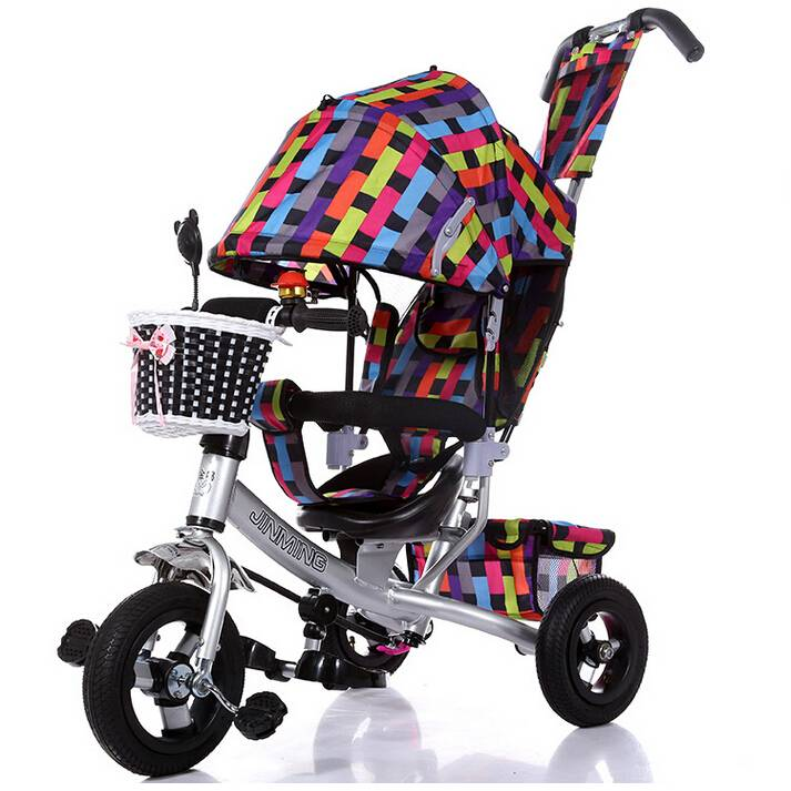 colorful functional trike 4 in 1 tricycle for 1 to 3 years old Qiangjiu Bicycle Group