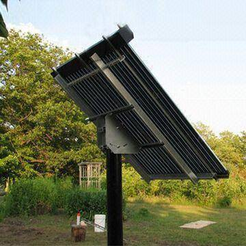 Heat Pipe Solar Collector for Commercial Applications