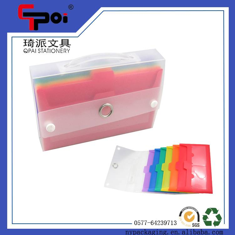 Office Supplier Children Expanding File Folder A4 PP Document Bag File Folder