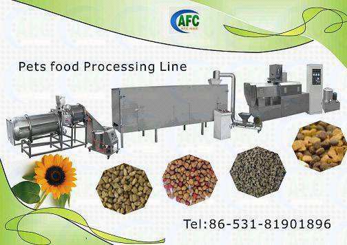 pet and animal food production line--Dog/Cat/Fish/Bird Food Machinery