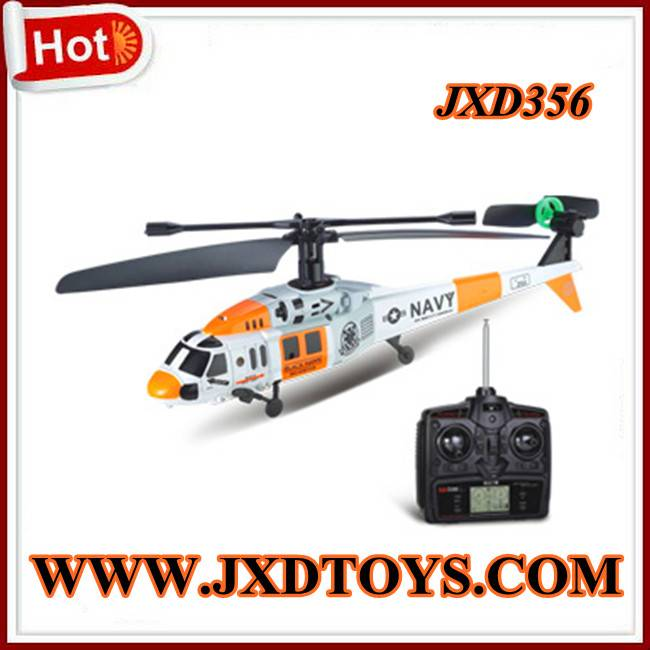 2012 Hot Sell  3.5CH RC Helicopter Single-blade(Black Hawk)