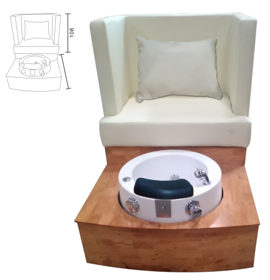 Classic Salon Spa Pedicure Chair Foot Massage XY-89070