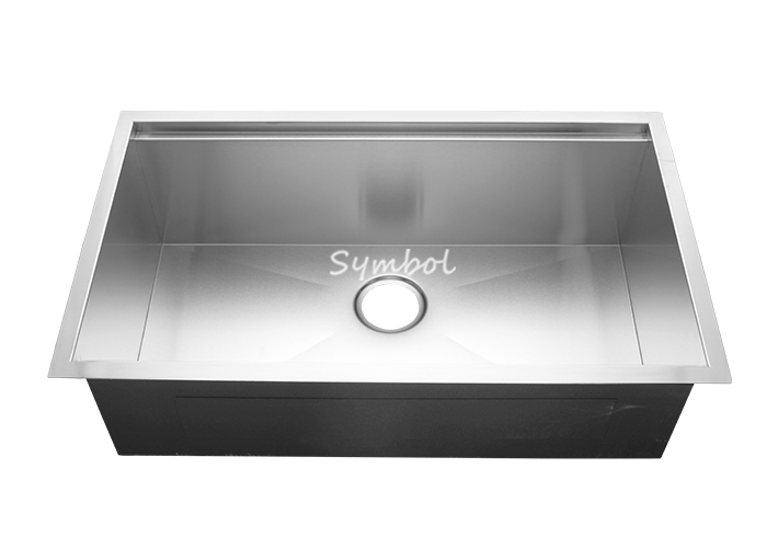Undermount Single Stainless Kitchen Sink With Ledge