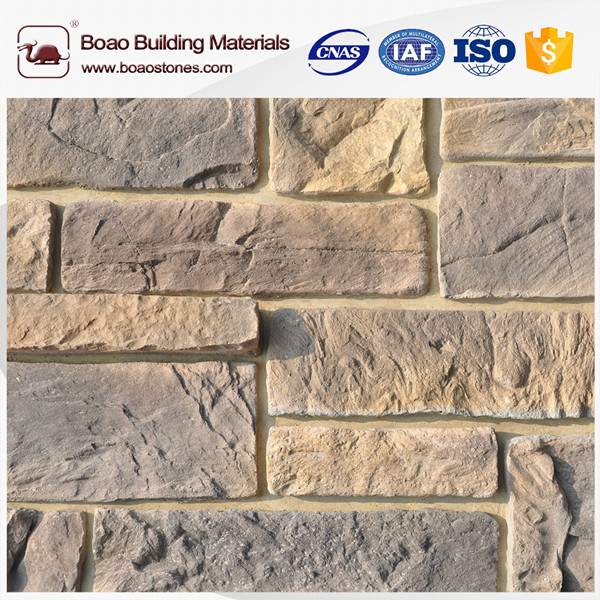 New design wall decorative artificial faux stone wall facade veneer