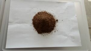 soju residue powder