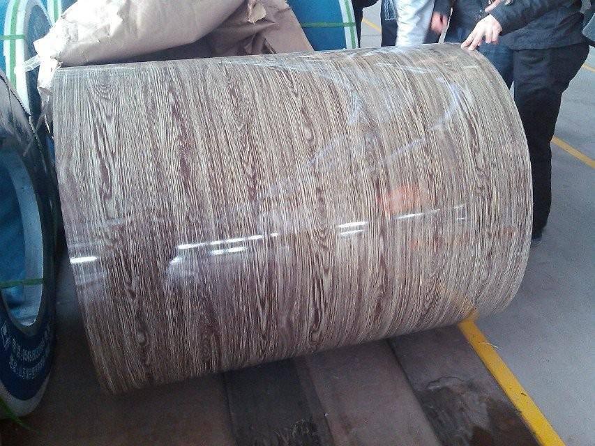 WOOD GRAIN STEEL SHEET