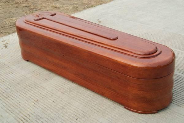 European-Style Wooden Coffin&Casket (R001HI)