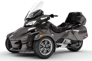 2012 Can-Am Spyder RT Tricycle Motorcycle