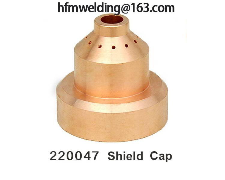 100A Shield cap 220047 for HYPERTHERM power max 1650,plasma cuting welding