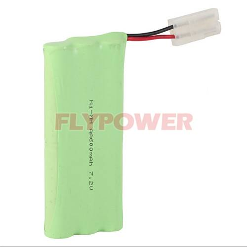 7.2V AA600mAh Ni-MH Rechargeable Battery Pack (6S of FH-AA600)