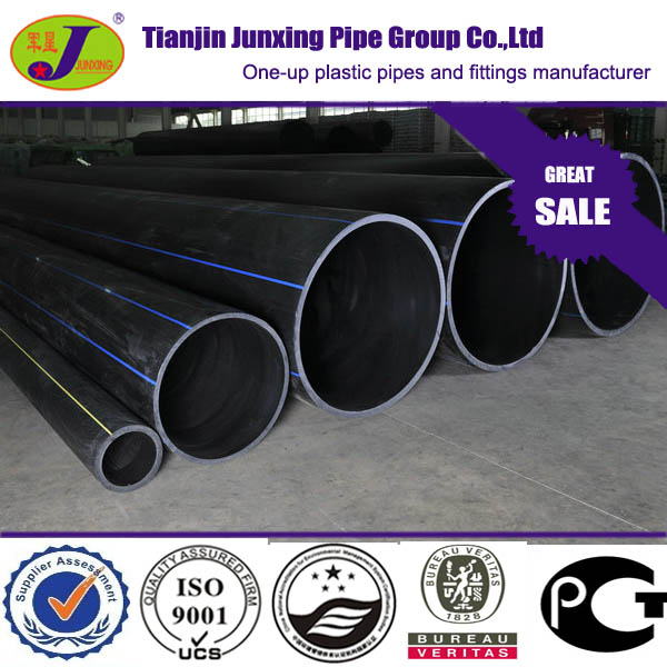 Polyethylene Tube ISO4427 sdr11 HDPE water pipe PE tube