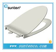 Bathroom Soft Closing Duroplast Material Enhanced V Shape Toilet Seat