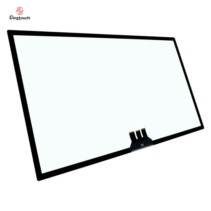 """Large size 65"""" inch pcap capacitive touch screen overlay kit with EETI controller board Multitouch"""