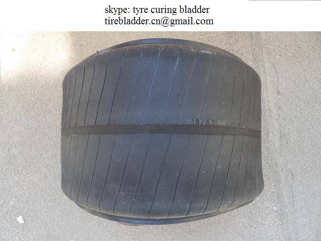 Radial Tractor tyre curing bladder