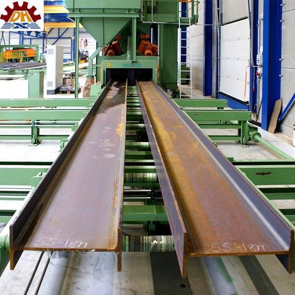 QGW Steel Plate Shot Blasting And Painting Machine , ISO9001