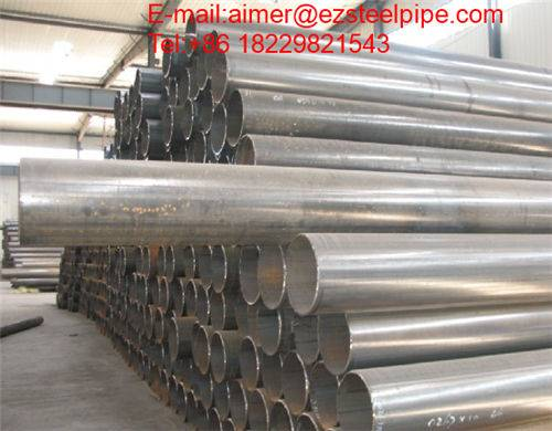 Steel Pipe ERW with API 5L Oil and Gas Line Pipe