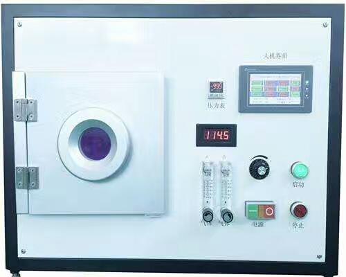 Máquina de limpieza de plasma por vacío