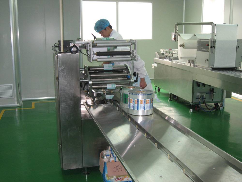 3-side packaging machine (Pillow packaging machine) Medical bandage packing machine