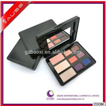 Top quality 9 color eye makeup in metal tin box