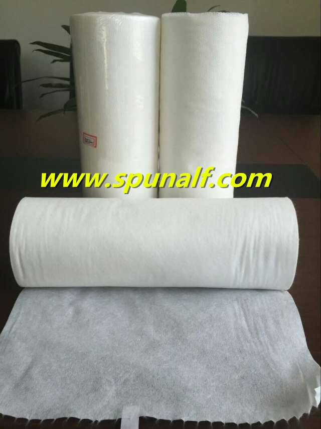 white nonwoven fabric for wet towel skin care