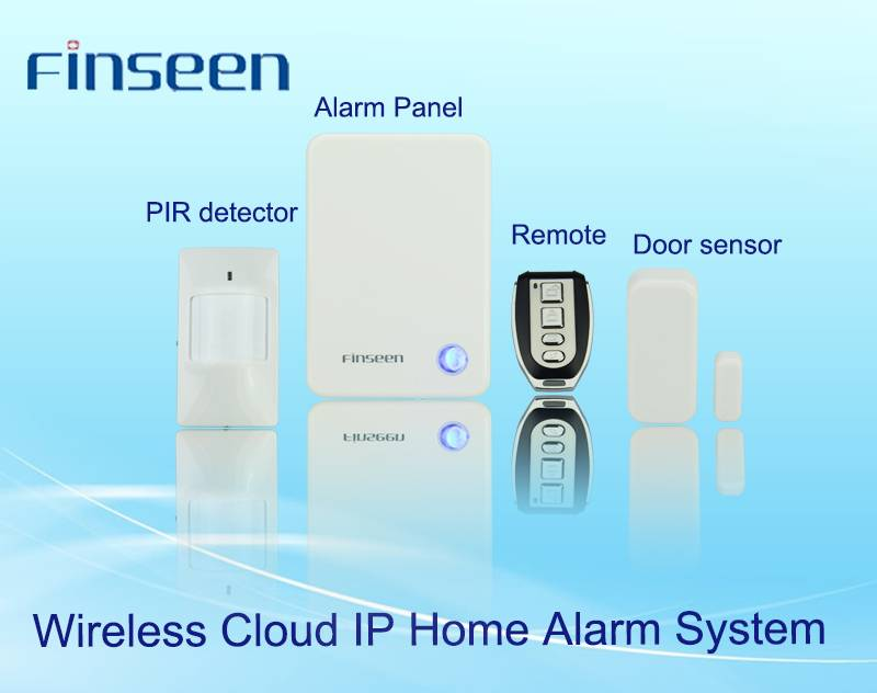 Smart home automation system IP home alarm with wireless PIR motion sensor