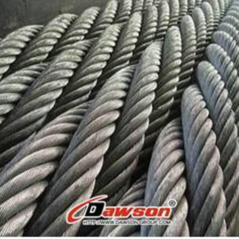 Steel Wire Rope of Galvanized or Ungalvanized