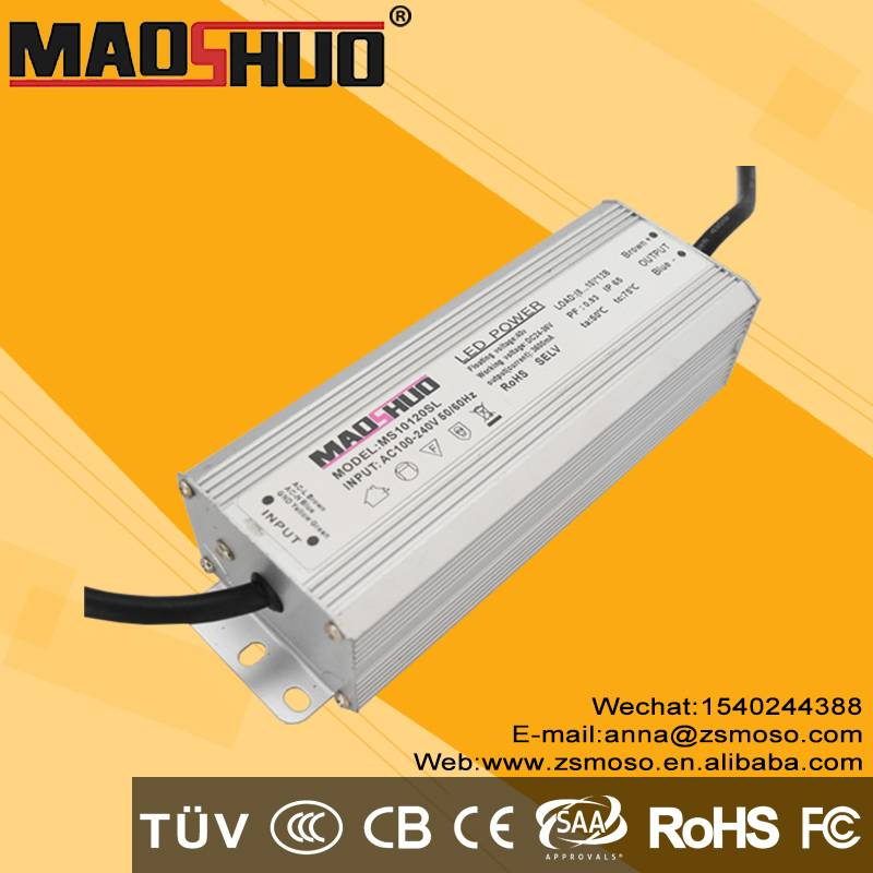 aluminium housing Constant current led driver 120w