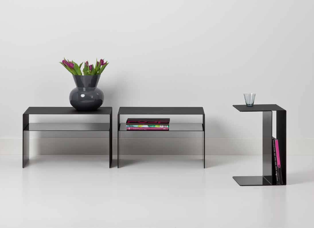 Uispair 100% Steel Square Dual-Purpose Modern Home&Office Table