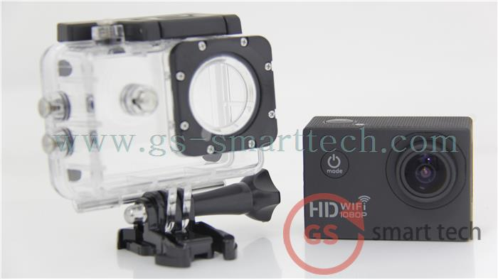 Full HD 1080 1.5inch LCD Action Digital Camera Camcorders Sport Cam Waterproof 30m WIFI Sport DV