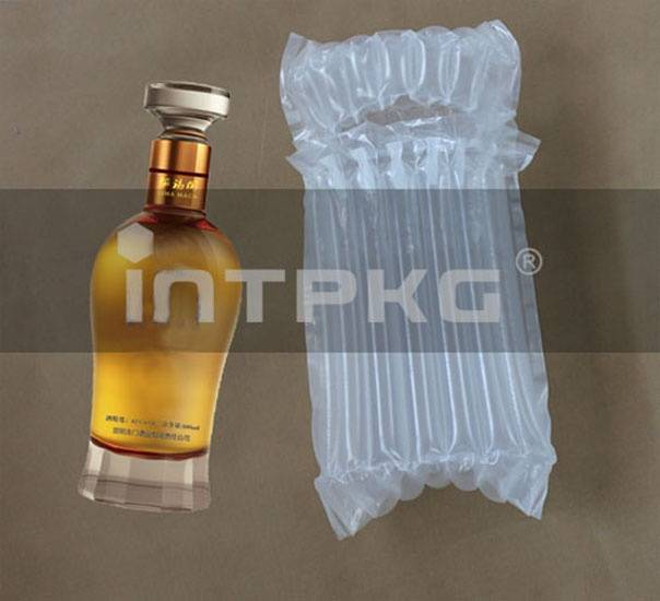 inflatible Glass bottle packaging