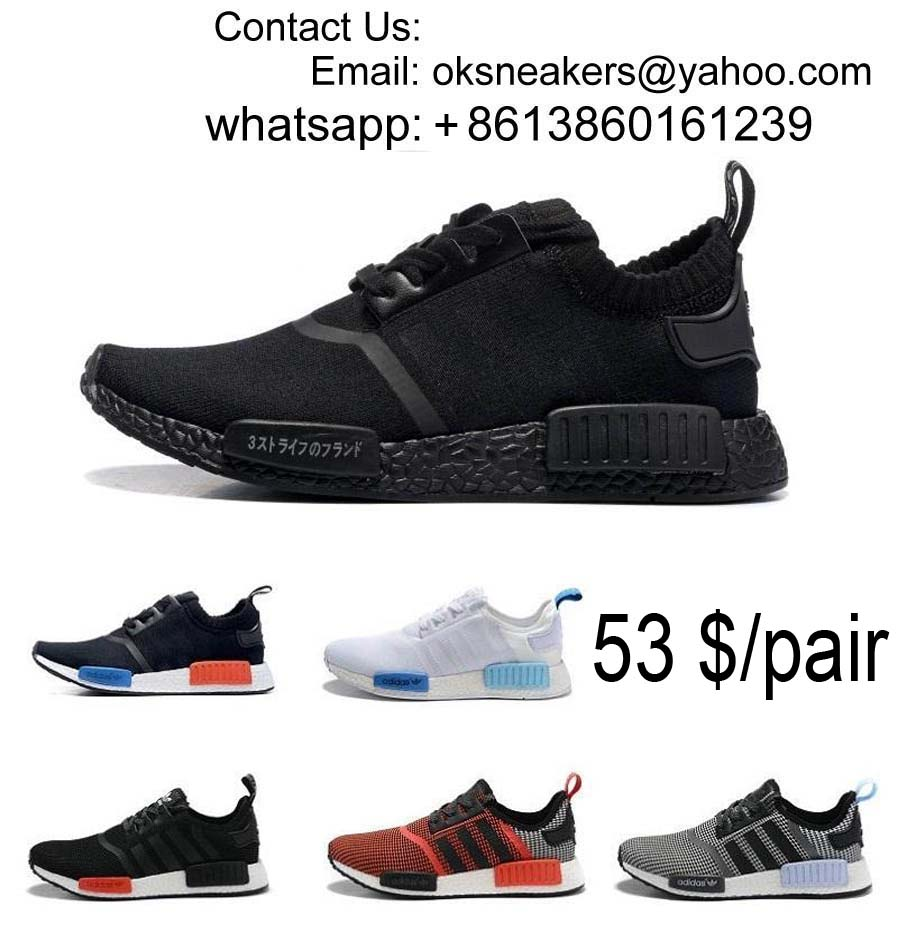 Wholesale NMD Shoes Men Women NMD Running Shoes Youth Boy NMD Sport Shoes Free Shipping