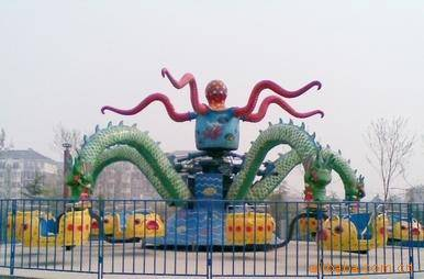 Amusement Park Rides Big Octopus For Kids /Young People