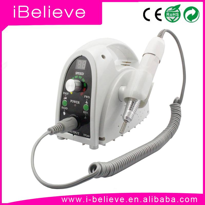 2015 New Exclusive Professional electric nail drill Machine 35000 rpm with LCD Digital RPM Display