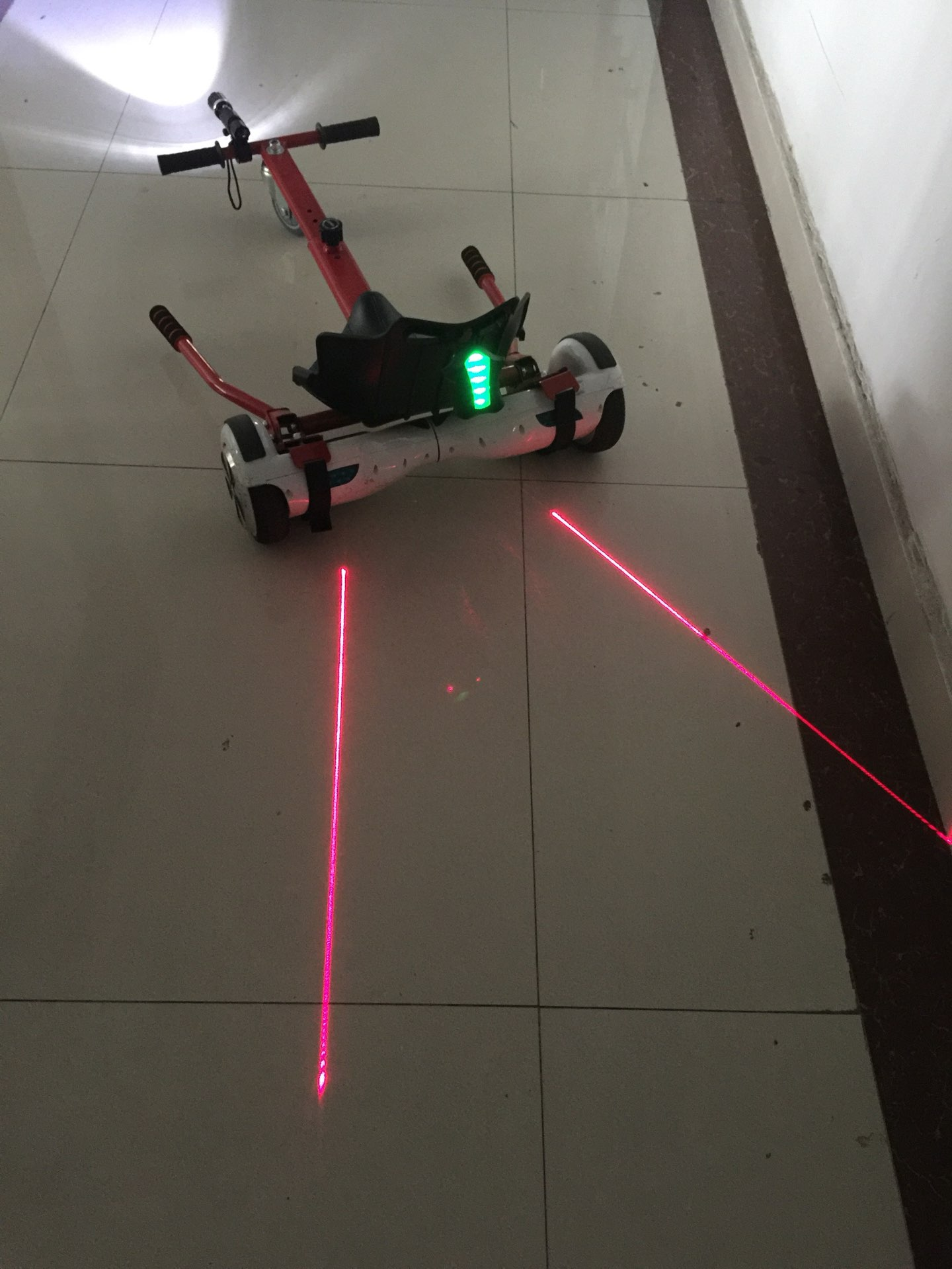 Newest Model For The Kids Hoverkart Hoverboard With Front And Back Led Light
